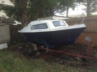 Sailing Boat 17 ft Pedro GRP with trailer