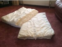 Single bed Duvets and pillows