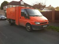 Ford Transit 2003 Tipper Orange London Lez zone compliant