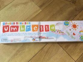 Design your own umbrella set - Brand new still in box