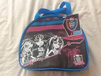 Brand new monster high lunch bag