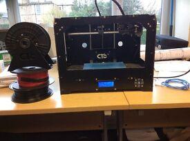 CTC 3D Printer Twin Extruder