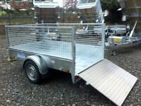 Trailer single axle 7x4 Dale kane fully welded road legal