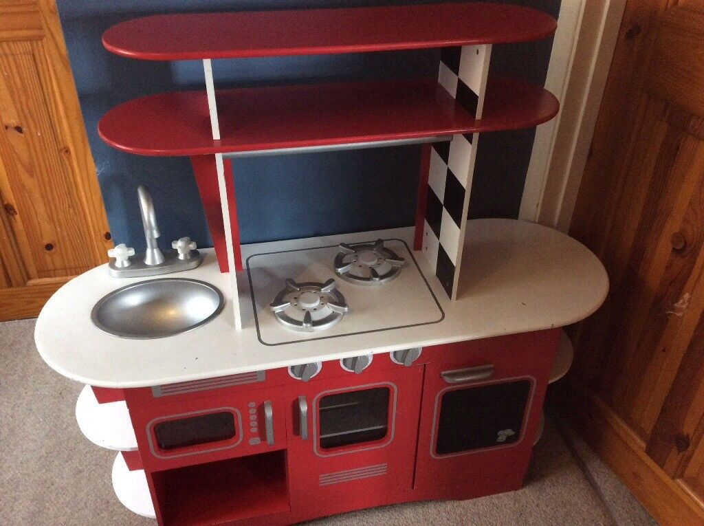 Elc Retro Wooden Kitchen And Accessories In Brighton East Sussex