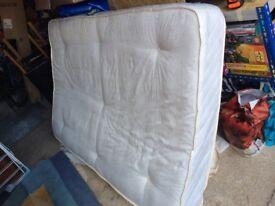 Small double soft mattress - Totton area.