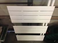 Bathroom open towel radiator large,