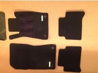 Car mats for Mercedes CLS model year 2007