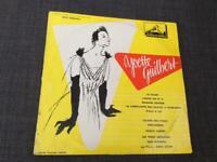 Very rare record Yvette Guilbert