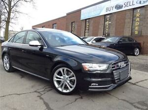 2014 Audi S4 PROGRESSIV V6T | NAVI| BLACK ON BLACK