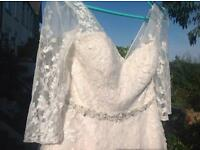 Wedding Dress Size 16 sleeves