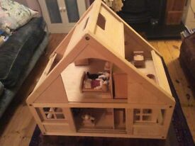 Wooden Dolls' House