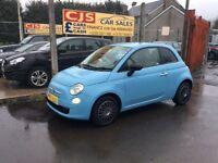 Fiat 500 875cc petrol 2011 2 owners 40000 fsh ful year mot fullyserviced £0 tax cheap car to run