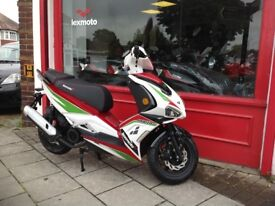 LEXMOTO MONZA ITALIA 125cc 3 YEARS WARRANTY-FINANCE & DELIVERY CAN BE ARRANGED FREE ALARM OR SERVICE