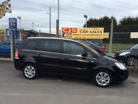 Vauxhall zafira elite 1.7 turbo diesel 7 seater 2010 62000 fsh long mot fullyserviced leather maypx