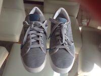 Adidas grey trainers