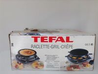 Raclette Grill With Crepe Plate Griddle Set