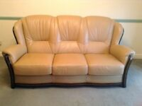 Sofa and Armchairs Italian real leather