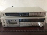 technics Tape deck and tuner