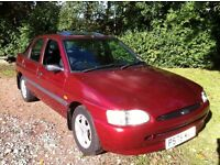 1997 FORD ESCORT LOW MILEAGE ONLY 72K FROM NEW