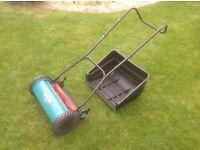 Bosch AHM 38G Hand Lawn Mower -hardly used