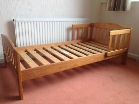 Mothercare Toddler Bed Frame & Guard