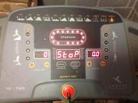 Domyos tc-760 heavy duty running machine weight up to 130 kgs