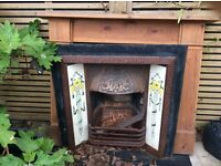 Renovated Victorian Fireplace FREE to collector