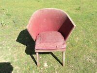 Vintage Chair suitable for restoration project.