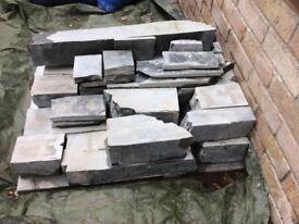 Delabole cut stone