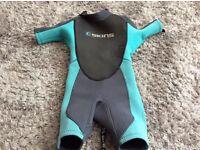 C skins neoprene wetsuit age 4-6