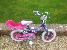 Raleigh Krush Bike for 3-5 year old
