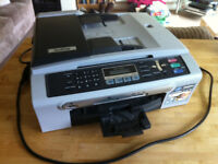 Brother Fax Machine and Copier with Ink Toner