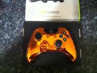 Xbox One Chrome Orange Scuf Gaming C ontroller FPS CALL OF DUTY