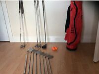 Brand new Set of titliest golf clubs, new bag etc. Unwanted gift £30