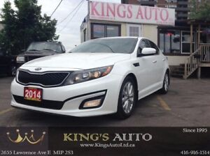 2014 Kia Optima EX, BACK-UP CAM, LEATHER, TRACTION CONTROL
