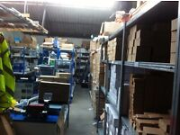 Business Opportunity, Warehouse, office, Running Business with stock , Great opportunity buy or rent