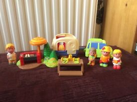 ELC Happy Land Caravan set