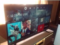 "BRAND NEW without box LG 58"" SUPER Smart 4K ULTRA HD TV(55UH635),built in Wifi,Freeview HD"