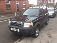 Land Rover freelander petrol manual / mot expired