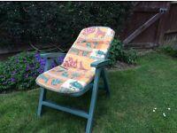 Garden reclining lounger