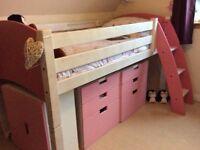 Cabin bed - Children's Flexa Mid sleeper
