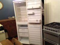 Large white Creda fridge freezer in good condition