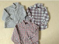 3 boys long sleeve shirts age 2yrs/2-3yrs