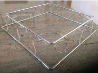 """Wire 'Hearts' 15"""" cake stand"""