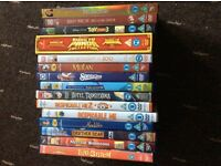 Collection of Children's Films including DISNEY & DREAMWORKS £20