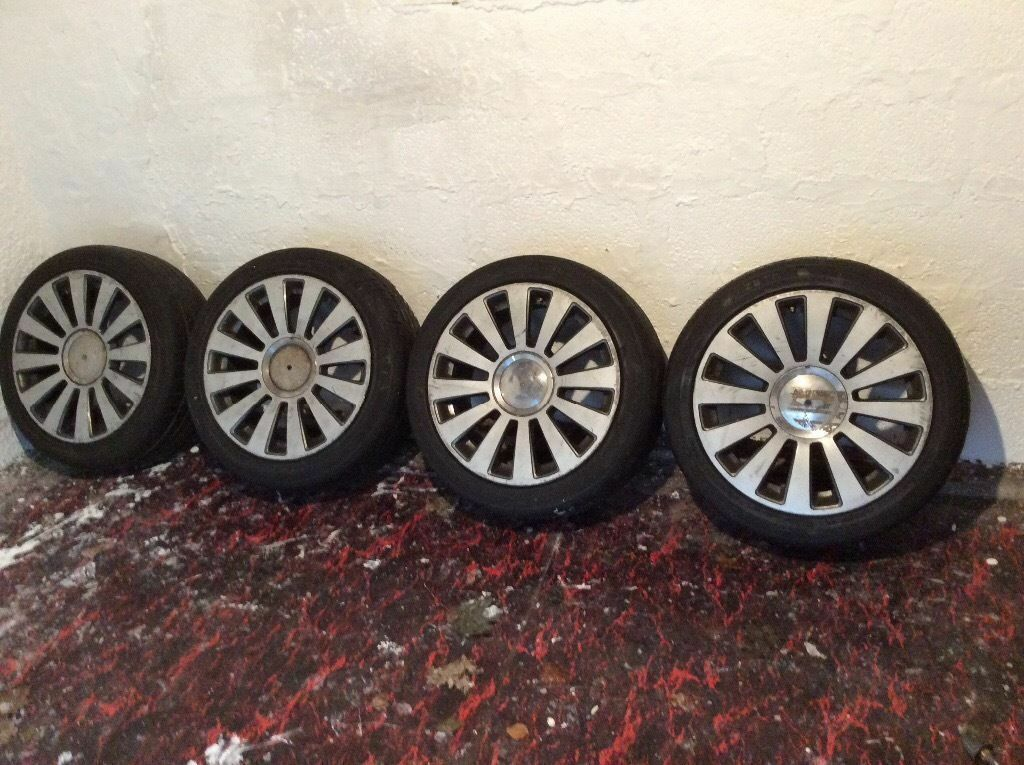 "AUDI RS8 ... 18""...... ALLOYS MULTI - FIT.... IDEAL WINTER WHEELS"