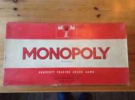 Monopoly Orignal Vintage Edition 1970's
