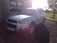 2012 Chevrolet captiva 2.2 vcdi ltz. Immaculate condition inside and out