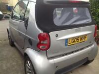 Smart cabriolet 05 low miles long mot