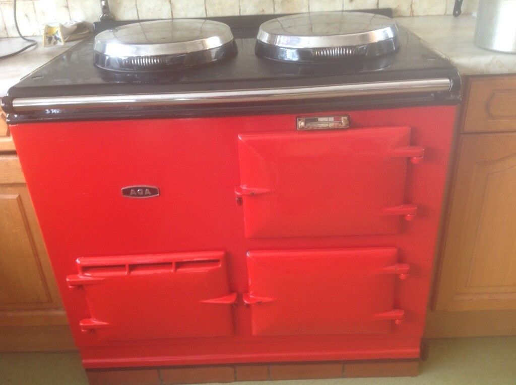 Gas Aga 2 oven offers accepted